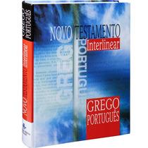 Novo Testamento Interlinear Grego Português Frete Grátis