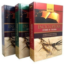 Enciclopédia Estudos De Teologia - 3 Volumes Ed. Semeie