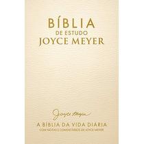 Bíblia De Estudo Joyce Meyer Dourada Bello Publicações
