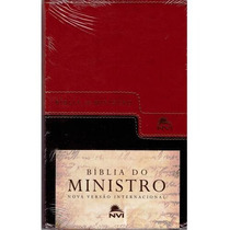 Bíblia Do Ministro Nvi Marrom E Café