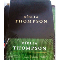 Bíblia De Estudo Thompson Almeida Contemporania.