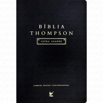 Bíblia De Estudo Thompson Letra Grande - 17,5 X 25 Grande