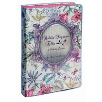 Biblia Sagrada Ella De Estudo Conciso - Luxo Floral