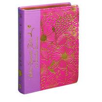 Biblia Sagrada Ella De Estudo Conciso - Luxo Rosa