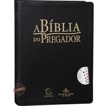 A Bíblia Do Pregador - Revista E Atualizada - Preta + Indice