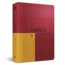 Bíblia Em Ordem Cronológica Luxo Nvi Vermelha