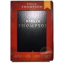 Bíblia De Estudo Thompson - Couro Sintético Preto + Indice.