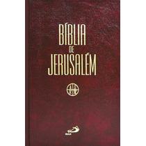 Bíblia De Jerusalém Encadernada Média Capa Dura