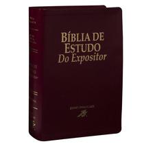 Bíblia De Estudo Do Expositor - Vers. X Vers. - Letra Grande