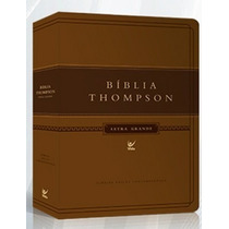 Bíblia De Estudo Thompson Letra Grande 17 X 24 Grande