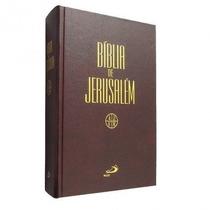 Bíblia De Jerusalém Capa Dura Frete Grátis