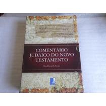 Livro Comentario Judaico Novo Testamento David Stern Ed 2008