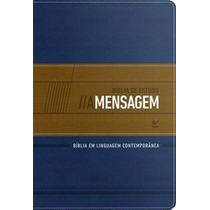 Bíblia De Estudo A Mensagem Azul E Bege Eugene H Peterson