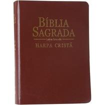 Bíblia Sagrada Com Harpa Cristã Pequena - Luxo Covertex