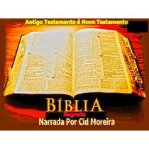 Bíblia Completa Narrada Por Cid Morreira 2 Dvds Em Mp3!