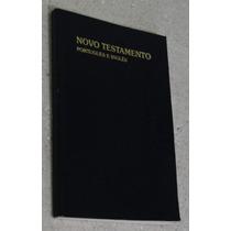 Livro Bíblia Novo Testamento Português - Inglês