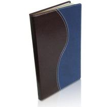 Bíblia Almeida Edição Contemporânea Azul E Marrom - Ultra Fi