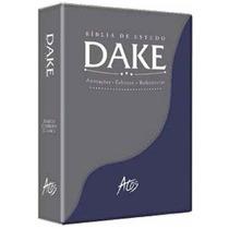 Bíblia De Estudo Dake Edição 2015 Dicionário Expandido