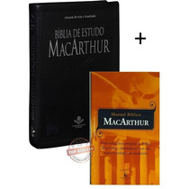 Kit Macarthur - Biblia De Estudo Macarthur + Manual Biblico