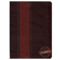 Bíblia De Estudo Thompson Couro Bonded Marrom 2 Tons Frete G