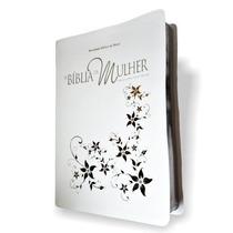 Bíblia De Estudo Da Mulher Grande 17x23,5 Branca Ra