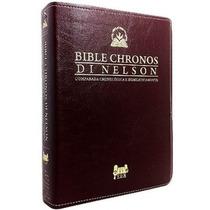 Bíblia Chronos Di Nelson Expositiva Em Ordem Cronológica