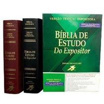 Bíblia Expositor + Cronologica + Mulher + Descobert + Harpa