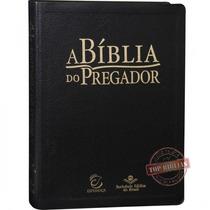 A Bíblia Do Pregador - Revista E Atualizada Capa Luxo Preta