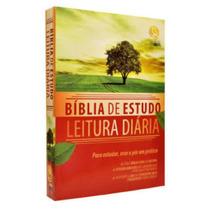 Bíblia De Estudo Leitura Diária - Frete Grátis + Parc Sem Ju