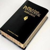 Bíblia De Estudo Pentecostal + Harpa Cristã - Frete Grátis