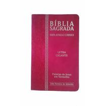 Biblia Com Harpa Letra Extra Gigante E Corinhos E Palavras D