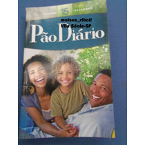 Livro Pão Diário Nº 15 Edição 2012 &