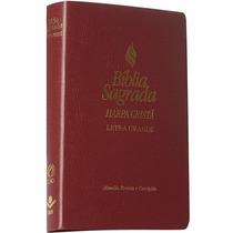 Bíblia Evangélica Com Harpa Cristã Letra Gigante Almeida Rc