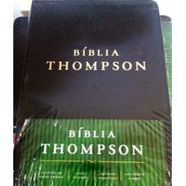 Bíblia De Estudo Thompson Com Índice Frete Grátis