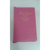 Bíblia Sagrada Feminina Evangélica Letra Gigante Com Harpa