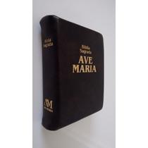 Bíblia Sagrada Ave Maria Bolso Zíper - Última Edição Palavra