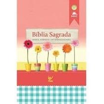 Bíblia Sagrada Nvi Evangelismo Média Brochura 10 Rosa 10 Azu