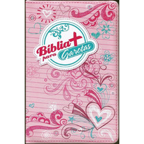 Bíblia + Para Garotas Ntlh - Rosa Ou Branca C/ Indice