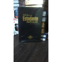 Bíblia Do Estudante Aplicação Pessoal Capa Luxo