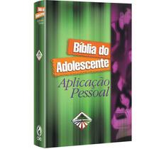 Bíblia Do Adolescente Aplicação Pessoal / Capa Dura / Cpad