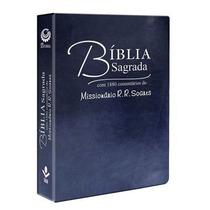 Bíblia Sagrada Comentada R. R. Soares Rc Frete Grátis