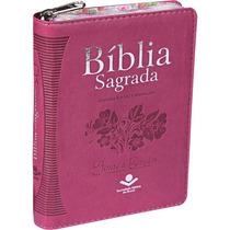 Bíblia Feminina Rosa Índice E Zíper. Linda!!!