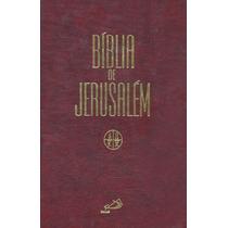 Bíblia Sagrada Católica - Bíblia De Jerusalém - Frete Grátis