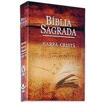 Bíblia Sagrada C/ Harpa Cristã Capa Música Brochura 16 X 11