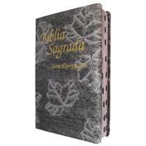 Bíblia Letra Hipergigante - Capa Luxo Prata Folha