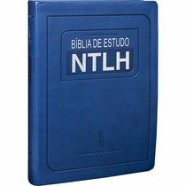 Bíblia De Estudo Ntlh Grande Masculina 17x23,5