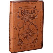 Bíblia Das Descobertas Para Adolescente Marrom Sbb