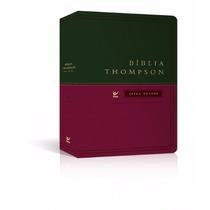 Bíblia De Estudo Thompson Letra Grande Aec Índice Luxo