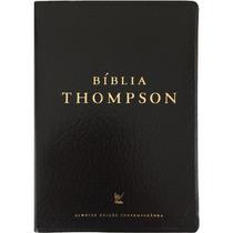 Bíblia De Estudo Thompson Capa Covertex Preta