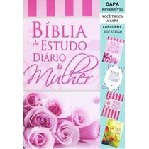 Bíblia De Estudo Diário Da Mulher 4 Capas (troca A Capa)